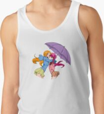 Orihime and Riruka's Rainy Day Men's Tank Top