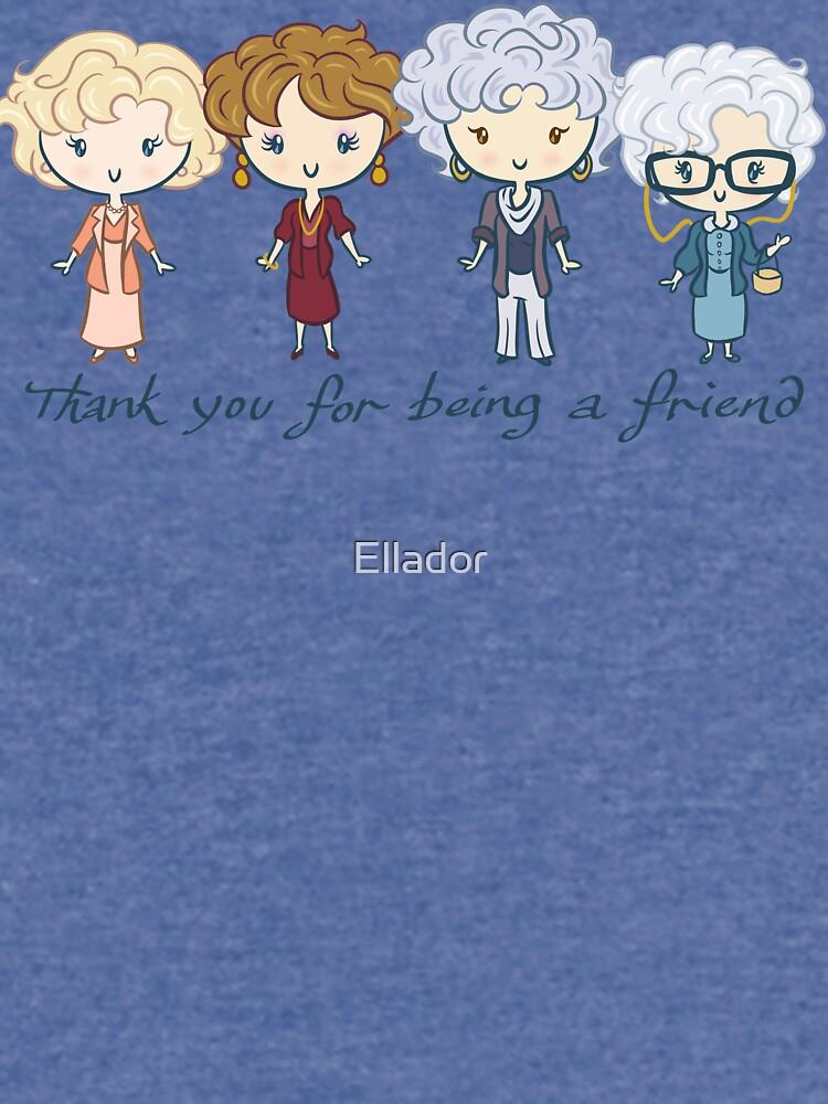 Danke, dass du mein Freund bist von Ellador