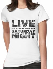 Live from NY Womens Fitted T-Shirt