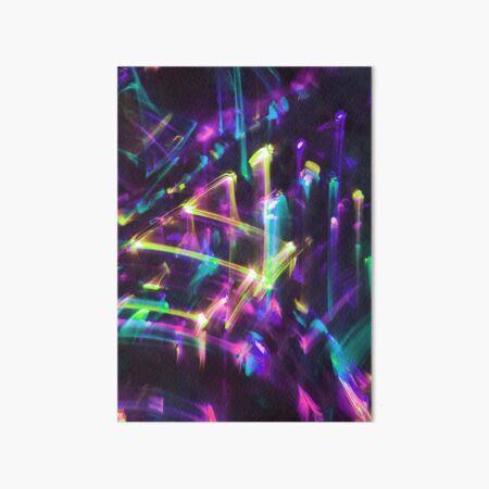 Glitchy Abstract no.132555 Art Board Print