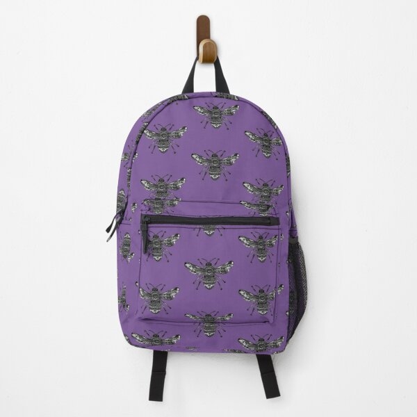 Purple Bee Backpack