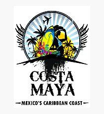 Costa Maya Photographic Print