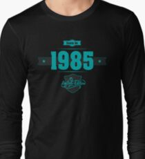 Born in 1985 (Blue&Darkgrey) T-Shirt