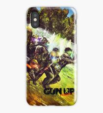 Gun Up Paintball Breakout Color iPhone Case/Skin