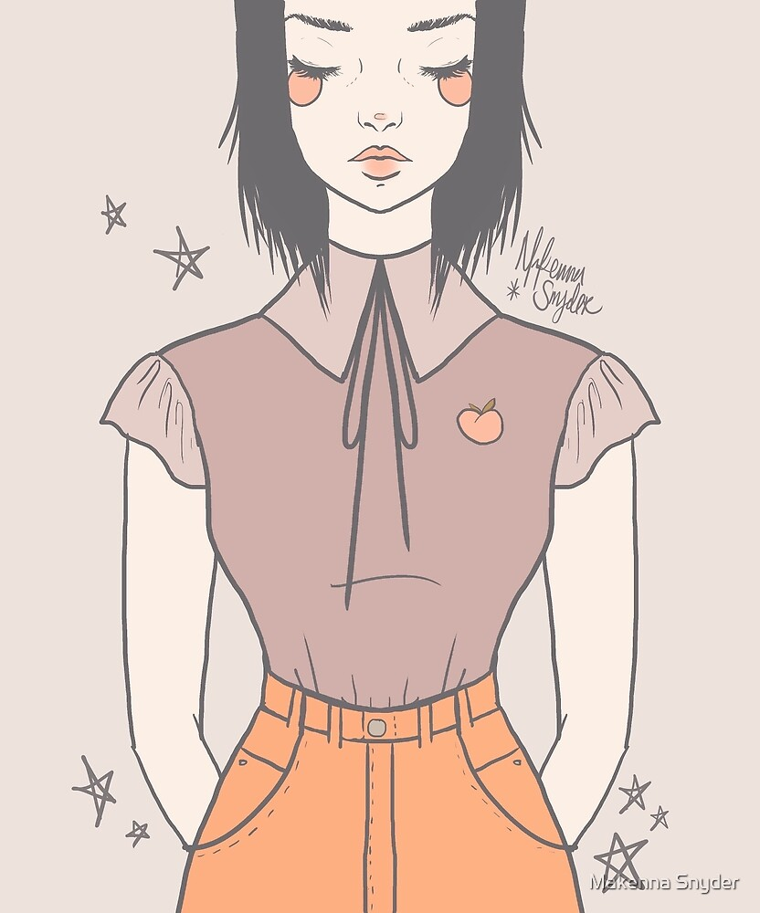 Peach Girl by Makenna Snyder