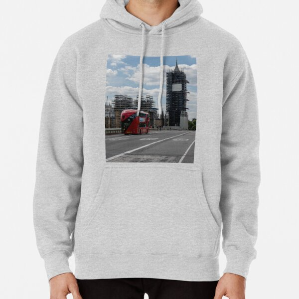 The Houses of Parliament current Restoration   Pullover Hoodie