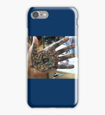 Protection from the evil eye iPhone Case/Skin