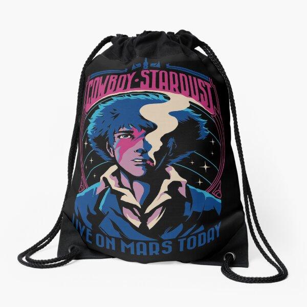 Cowboy Stardust Drawstring Bag