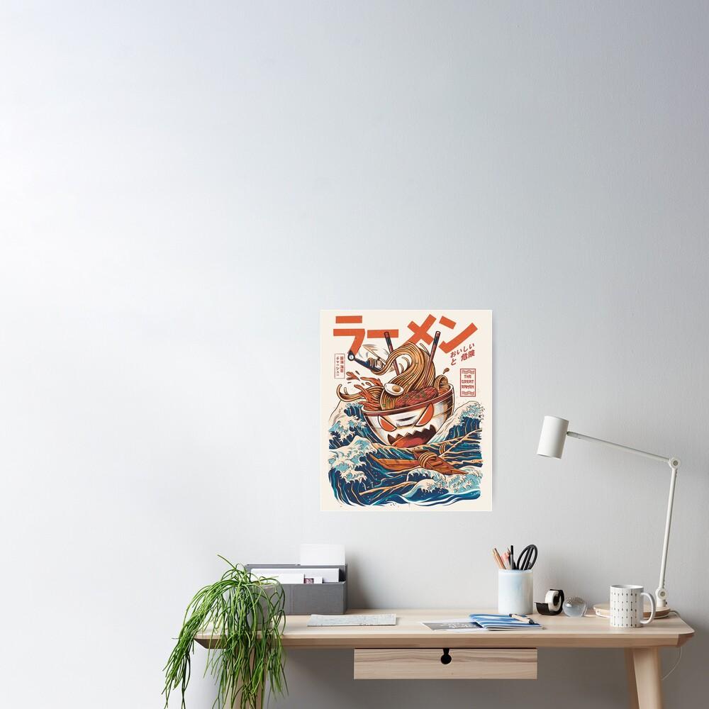 The Great Ramen off Kanagawa Poster