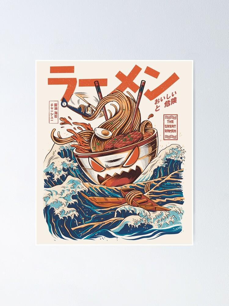 Alternate view of The Great Ramen off Kanagawa Poster