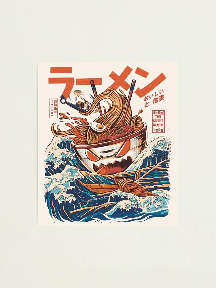 Alternate view of The Great Ramen off Kanagawa Photographic Print