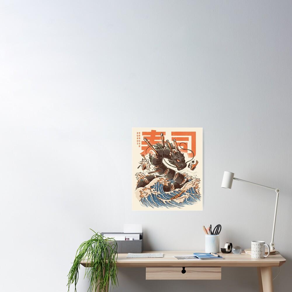 Great Sushi Dragon  Poster