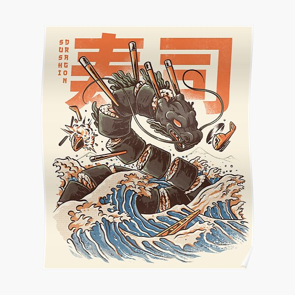 Great Sushi Dragon  Poster