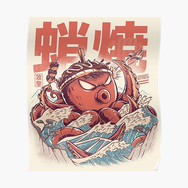 Takoyaki Attack Poster