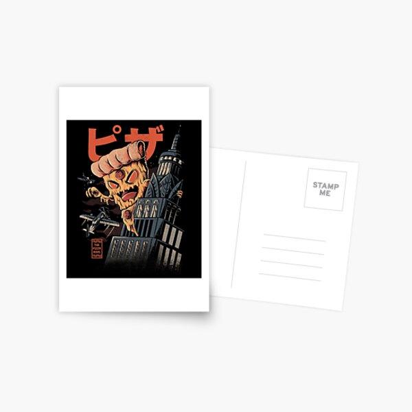 Pizza Kong Postkarte