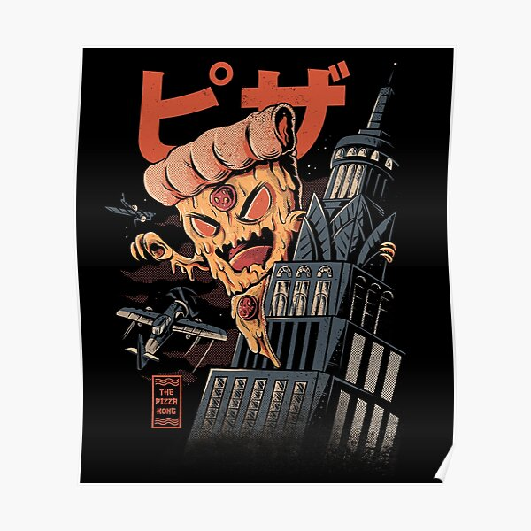 Pizza Kong Poster