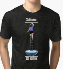 Subbuteo: Hand of God Edition (Glow) Tri-blend T-Shirt