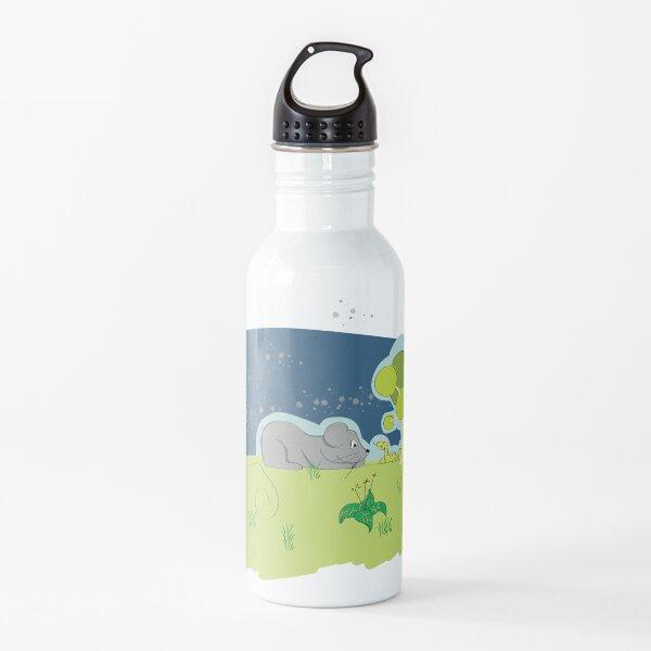 donde comienza la amistad Botella de agua