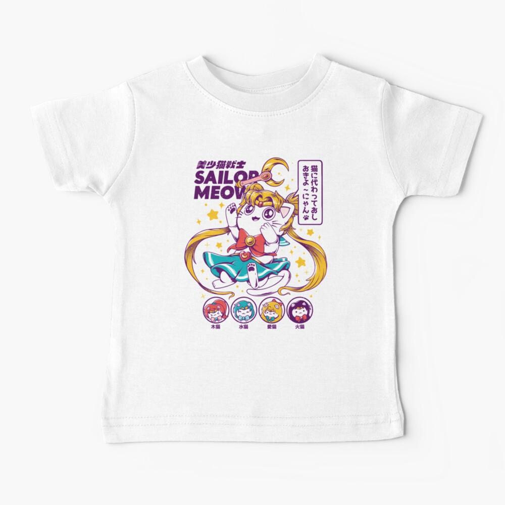 Sailor Meow Baby T-Shirt