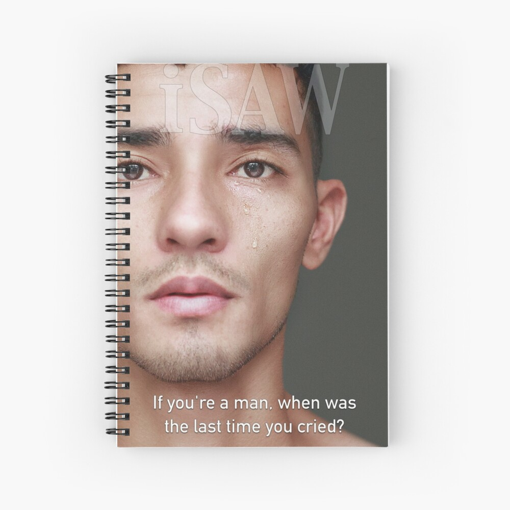 When Was The Last Time You Cried Spiral Notebook
