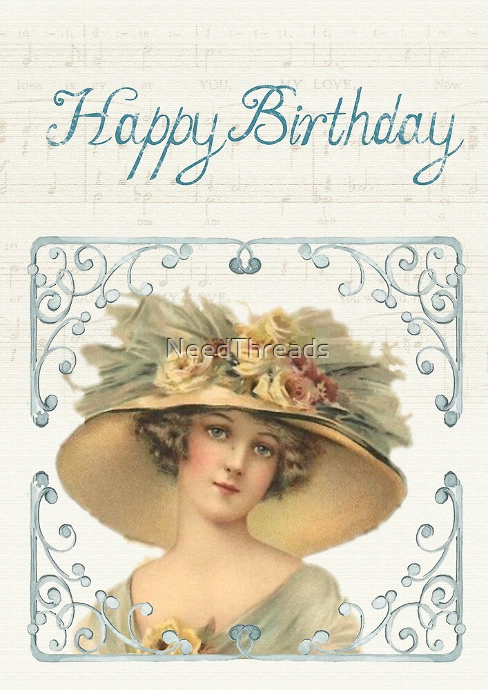 Birthday Lady by NeedThreads