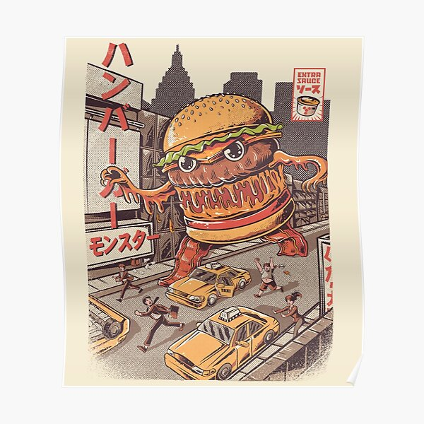 BurgerZilla Poster