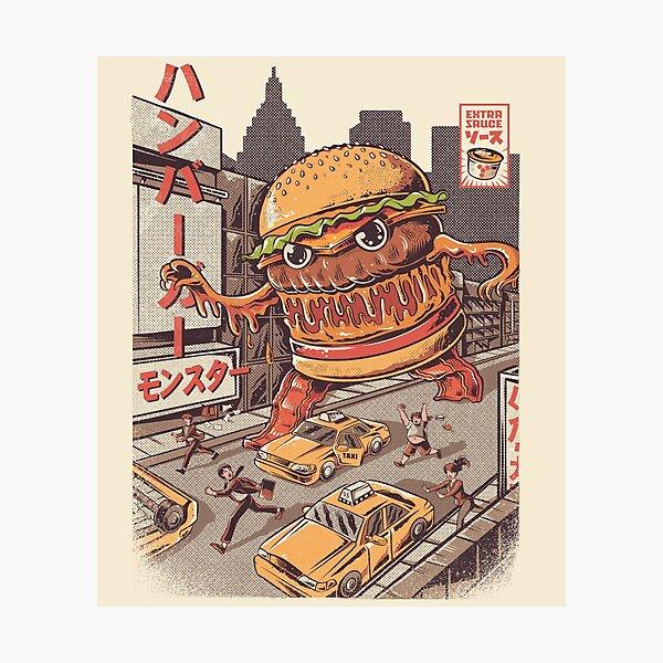 BurgerZilla Photographic Print