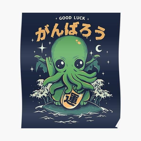 Good Luck Cthulhu Poster