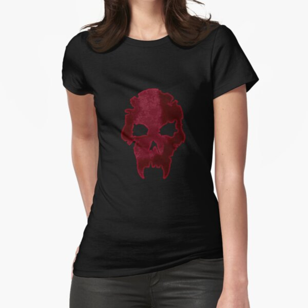 Skull: Vampire: The Requiem Fitted T-Shirt