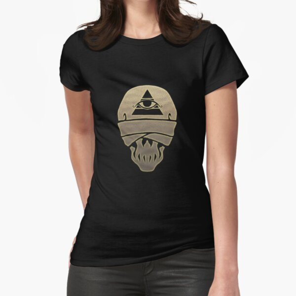 Skull: Mummy: The Curse Fitted T-Shirt