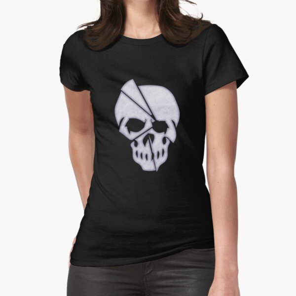 Skull: Promethean: The Created Fitted T-Shirt