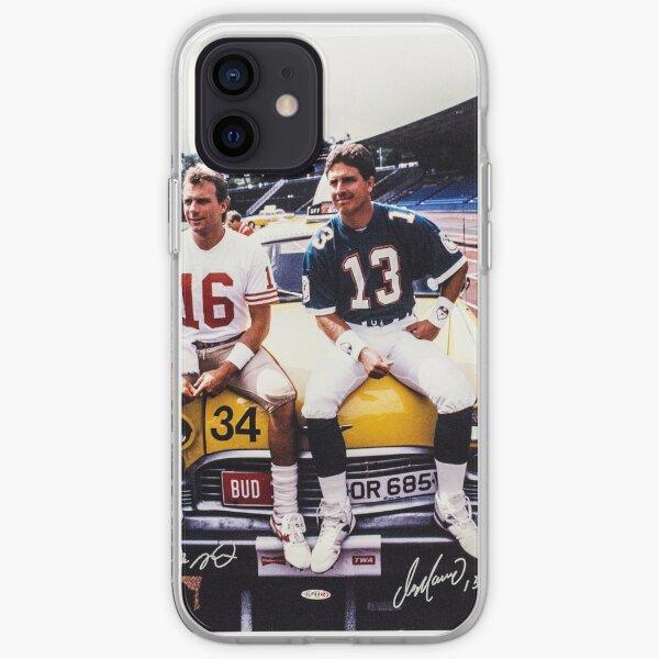 Dan Marino Joe Montana iPhone Soft Case