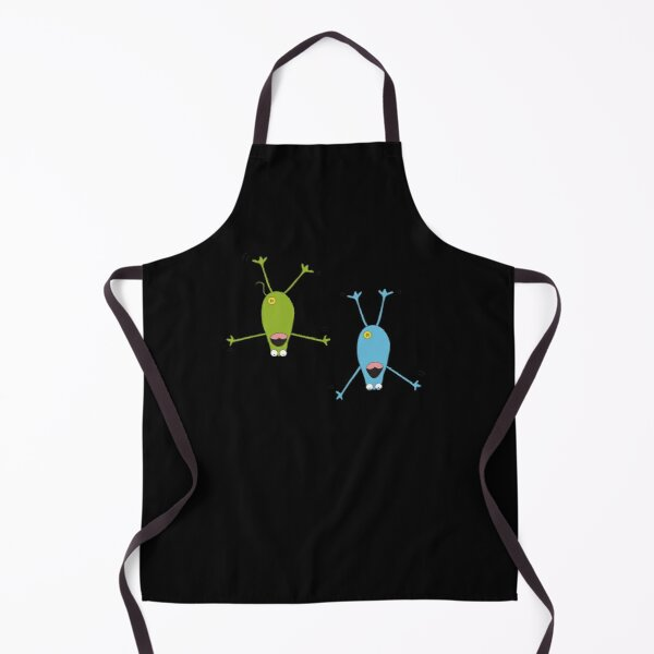 Frogs falling from the sky Apron