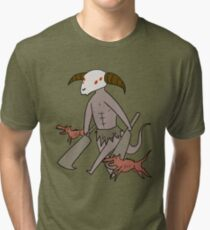 Capra Demon Tri-blend T-Shirt