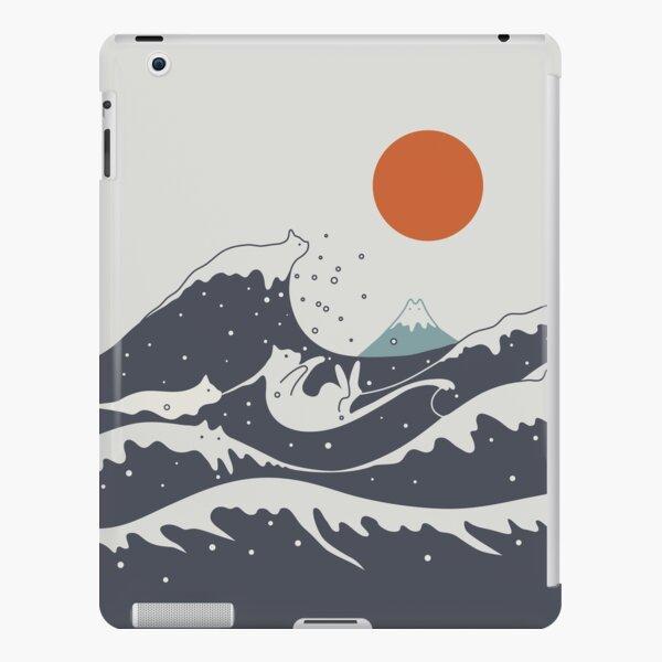 Cat Landscape 55A iPad Snap Case