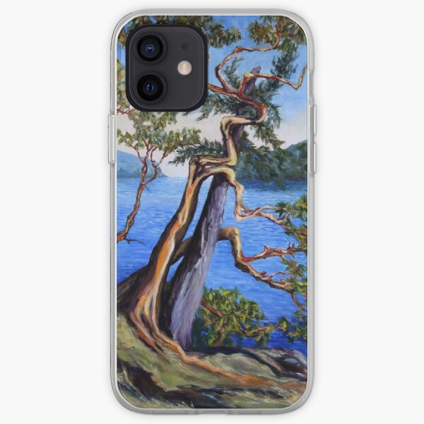 Southern Gulf Islands Afternoon iPhone Soft Case