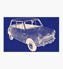 morris mini saloon Photographic Print