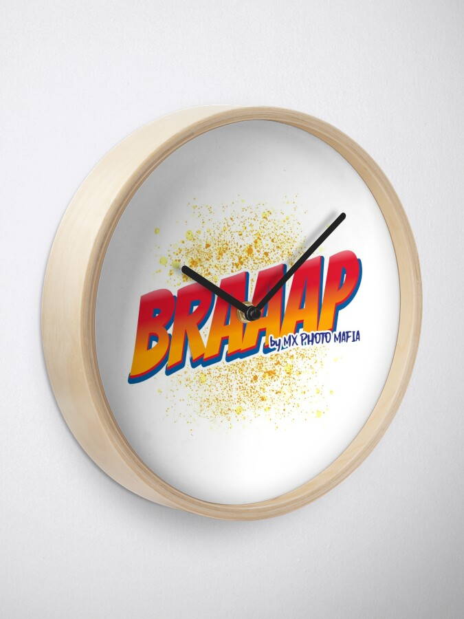 Horloge ''Braaap collection by MX Photo Mafia': autre vue