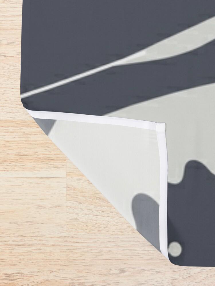Alternate view of Cat Landscape 55C Shower Curtain
