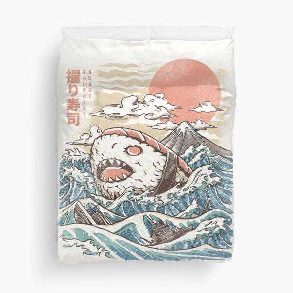 Sharkiri Sushi Duvet Cover