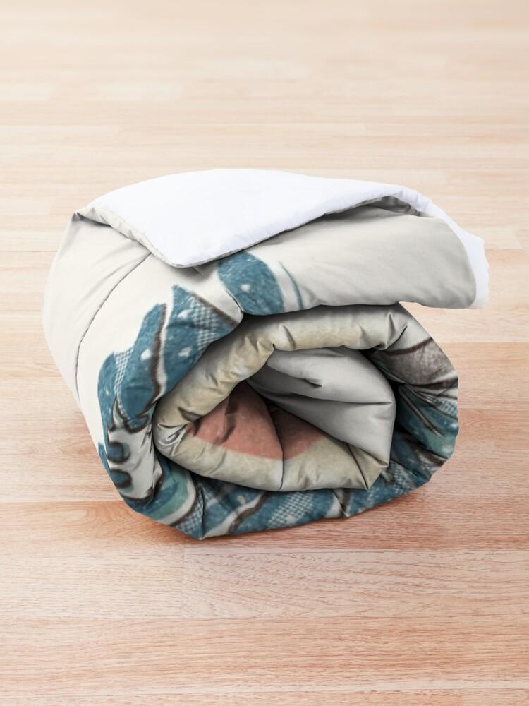Alternate view of Sharkiri Sushi Comforter