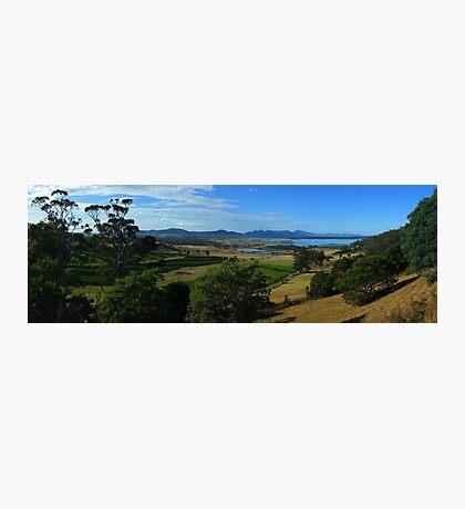 Freychinet Peninsula across Great Oyster Bay, Tasmania Photographic Print