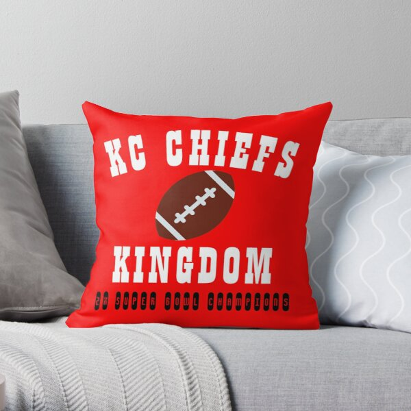 kc chiefs kingdom Throw Pillow