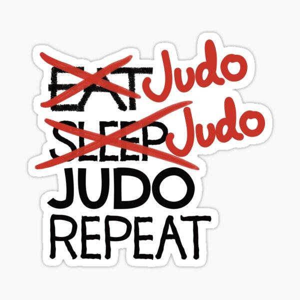 Judo Judo Judo wiederholen Sticker