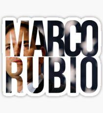 Pegatina Marco Rubio 2016