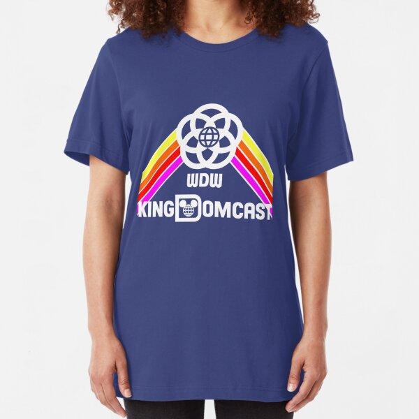 Kingdomcast Future World Logo Slim Fit T-Shirt