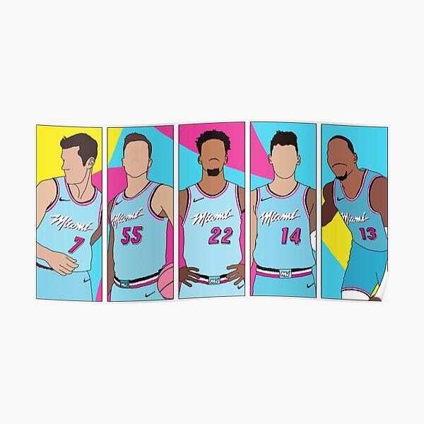 Miami Heat Vicewave Poster