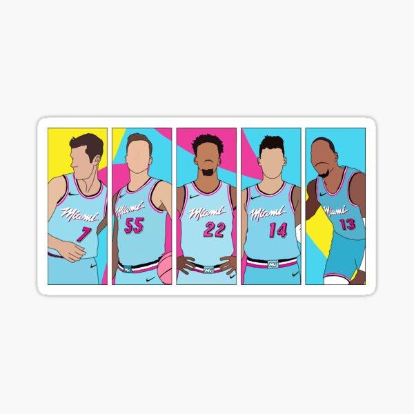 Miami Heat Vicewave Sticker