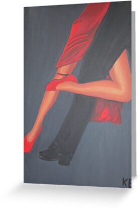 The erotic of tango greeting cards by klaus engels redbubble the erotic of tango by klaus engels m4hsunfo