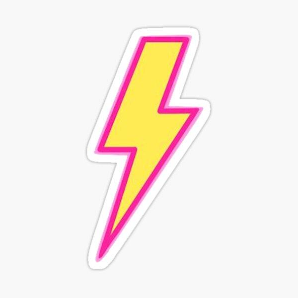 Preppy Lightnign bolt Sticker/ Phone case Sticker